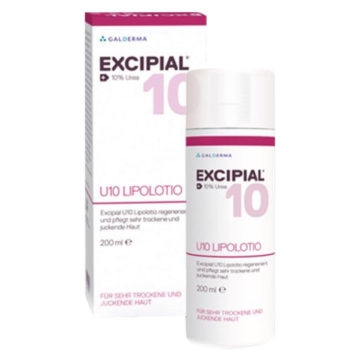 Excipial U 10 Lipolotion losjon za suho kožo, 200 ml