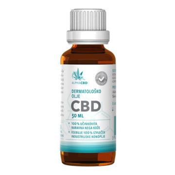 Favn Alpha CBD dermatološko olje, 30 ml