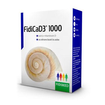 FidiCaD3 1000, 30 šumečih tablet