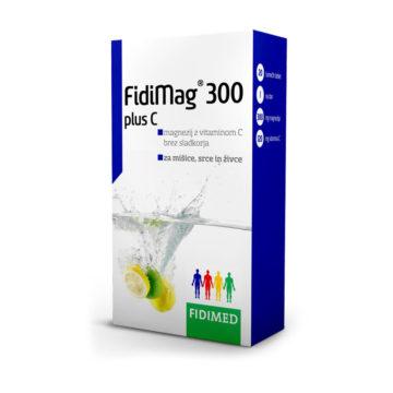 FidiMag 300 plus C, 20 šumečih tablet