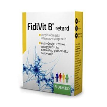 Fidivit B Retard, 40 tablet