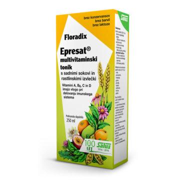 Floradix Epresat Energetikum multivitaminski tonik, 250 ml