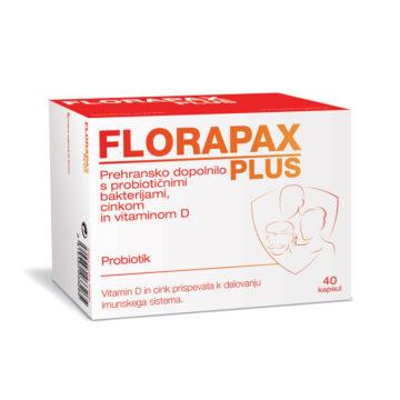 Florapax Plus probiotik, 40 kapsul