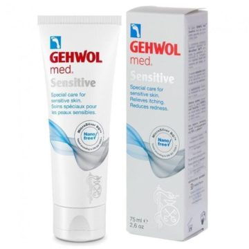 Gehwol Med Sensitive krema, 75 ml