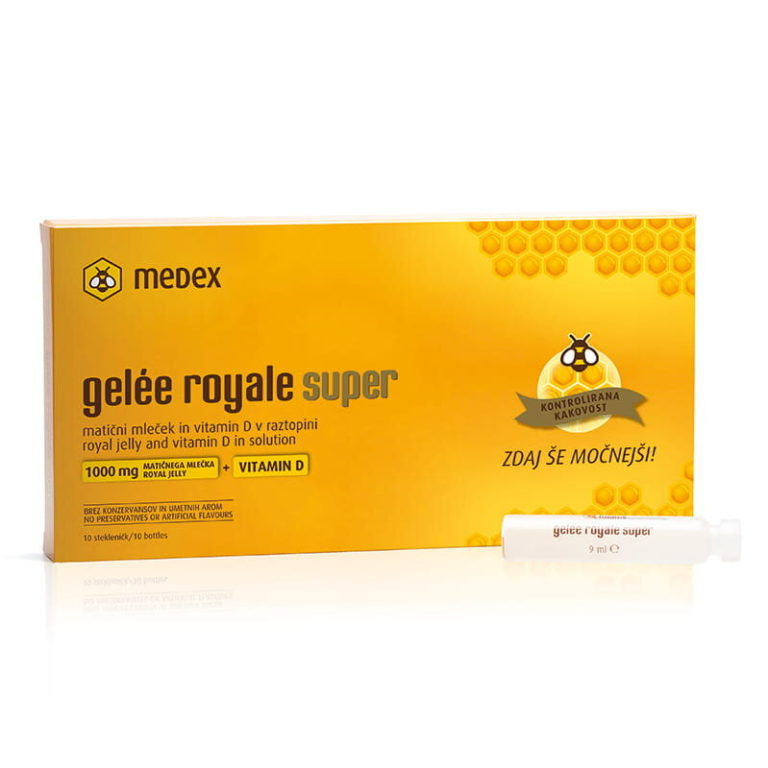 Gelee Royale Super fiole, 10 x 9 ml