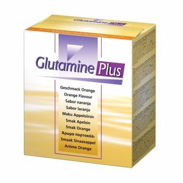 Glutamin plus prašek za peroralno raztopino z okusom pomaranče, 30 x 22,4 g