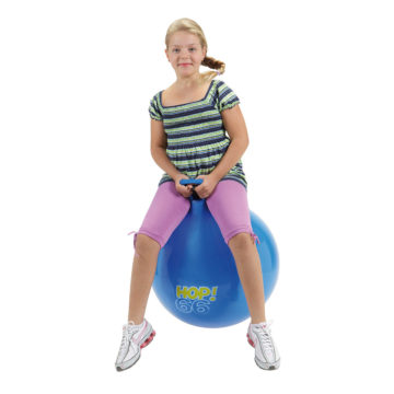 Gymnic terapevtska Hop modra žoga 66 cm, 1 žoga