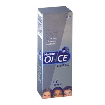 Hedrin Once gel za odstranjevanje uši in gnid, 100 ml