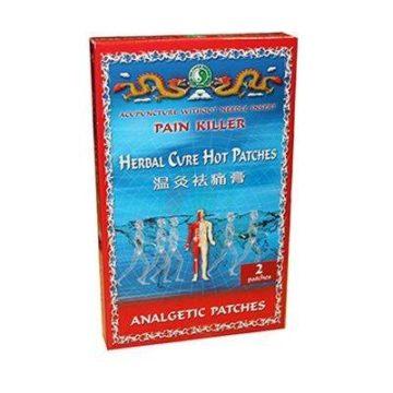 Herbal vroči obliži, 2 obliža