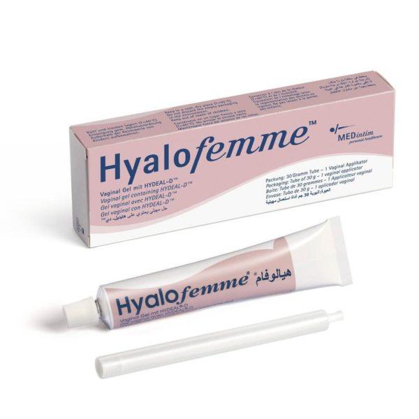 HyaloFemme vaginalni gel za vlaženje, 30 ml