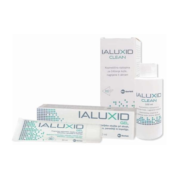 Ialuxid komplet (gel, 30 ml + Clean raztopina, 100 ml)