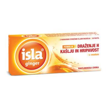 Isla Ginger ingver pastile, 30 pastil