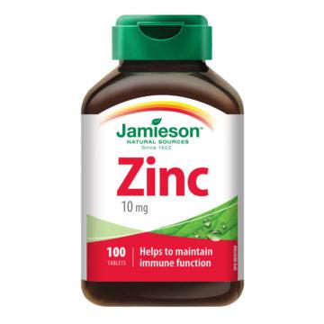 Jamieson Cink 10 mg, 100 tablet