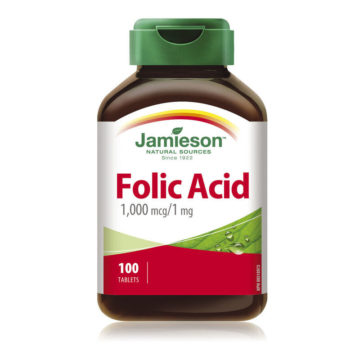 Jamieson Folna kislina 1,000 mcgmg, 100 tablet