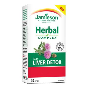Jamieson kompleks za razstrupljanje jeter, 30 tablet