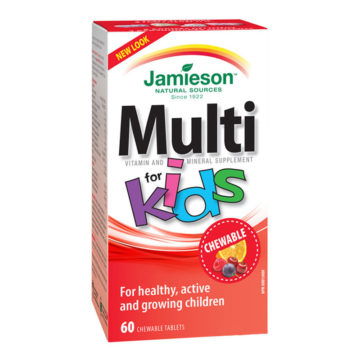 Jamieson Multi for Kids, 60 bonbonov
