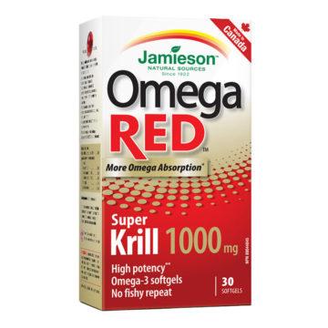 Jamieson Omega RED Super krilovo olje, 30 kapsul