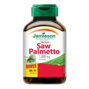 Jamieson Prostease Saw Palmetto zdrava prostata, 60 kapsul