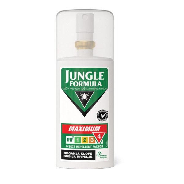 Jungle Formula Maximum zaščita pred klopi, 75 ml