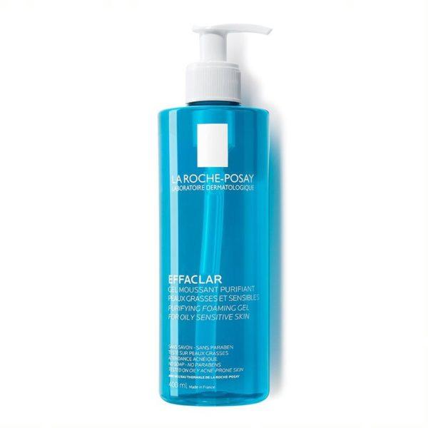 La Roche Posay Effaclar peneči čistilni gel, 400 ml