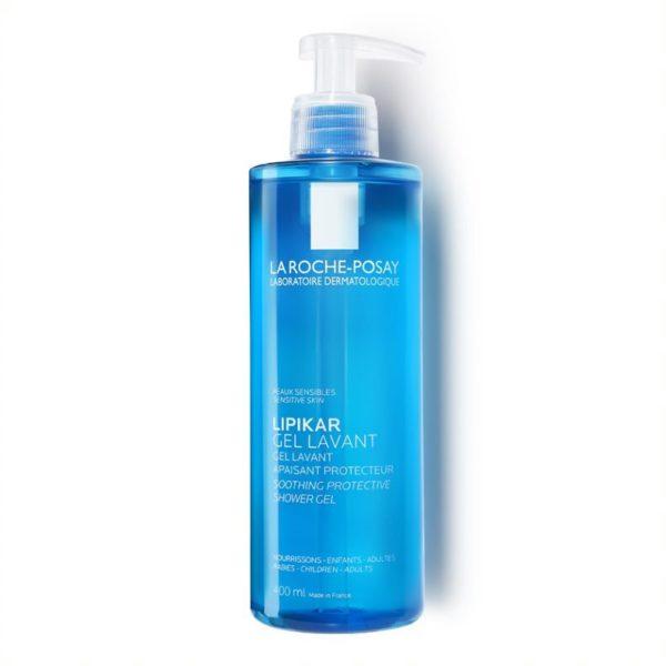 La Roche Posay Lipikar gel Lavant za prhanje za občutljivo in suho kožo, 400 ml