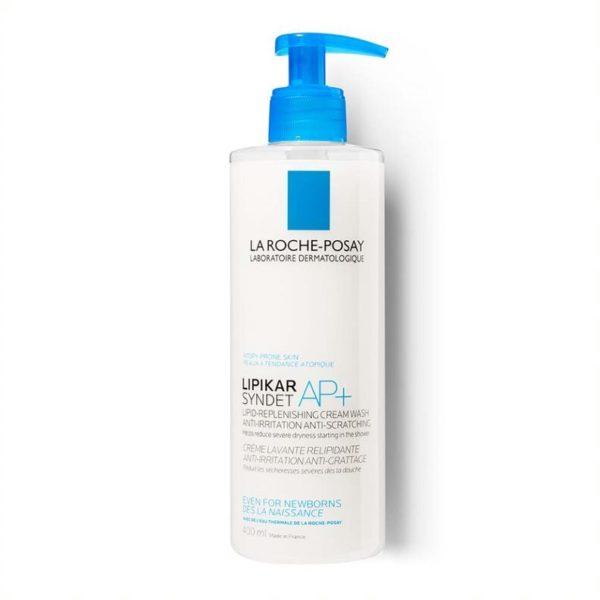 La Roche Posay Lipikar Syndet AP+ gel za umivanje telesa, 400 ml