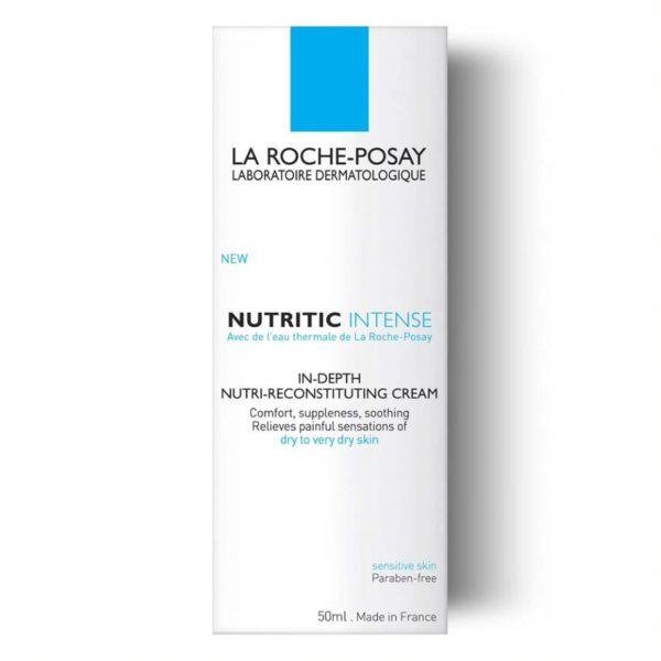La Roche Posay Nutritic Intense krema za zelo suho kožo, 50 ml embalaža