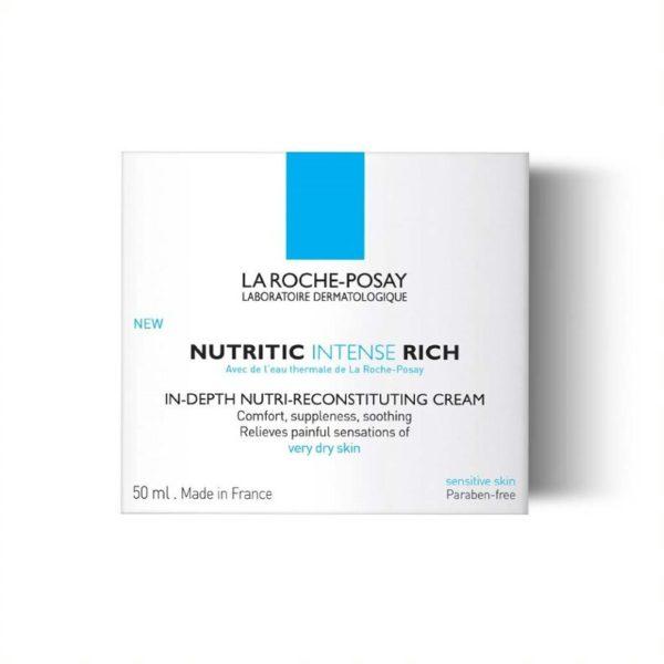 La Roche Posay Nutritic Intense Riche nega za zelo suho kožo, 50 ml embalaža