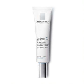 La Roche Posay Redermic C krema proti gubam za suho kožo, 40 ml
