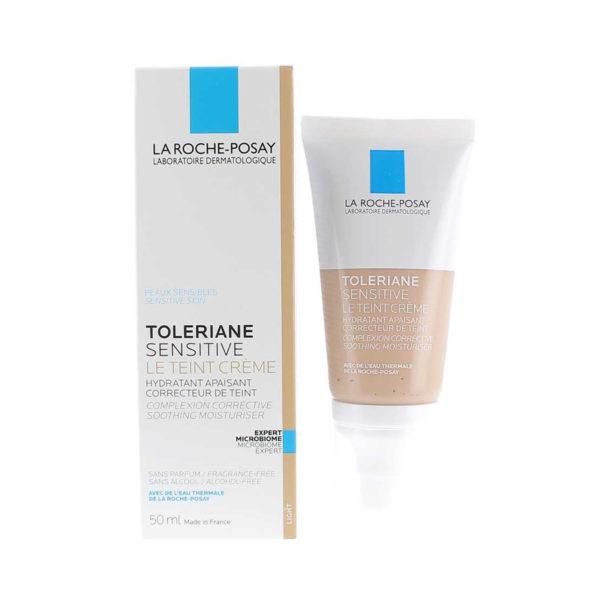 La Roche Posay Toleriane Sensitive Le Teint Light vlažilna nega za občutljivo kožo, 50 ml