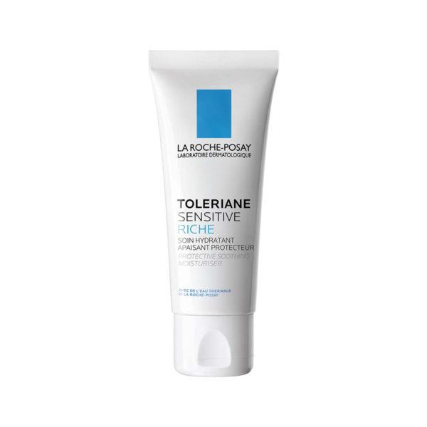 La Roche Posay Toleriane Sensitive Riche, bogata vlažilna nega za suho in občutljivo kožo, 40 ml