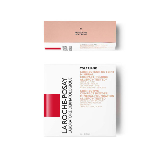 La Roche Posay Toleriane Teint kompaktni korektivni puder  št. 11, 9,5 g embalaža