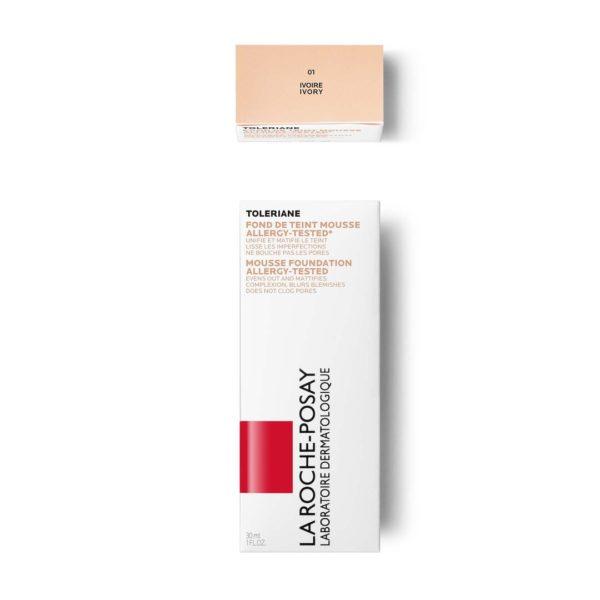 La Roche Posay Toleriane Teint vlažilni puder na vodni osnovi, 30 ml 01 -