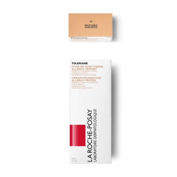 La Roche Posay Toleriane Teint vlažilni puder na vodni osnovi, 30 ml 03-