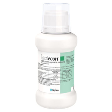 Lactecon 3,335 g na 5 ml peroralna raztopina, 500 ml in 1000 ml