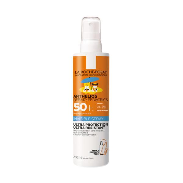 La Roche Posay Anthelios Dermo Pediatrics Shaka pršilo za otroško kožo ZF50+, 200 ml