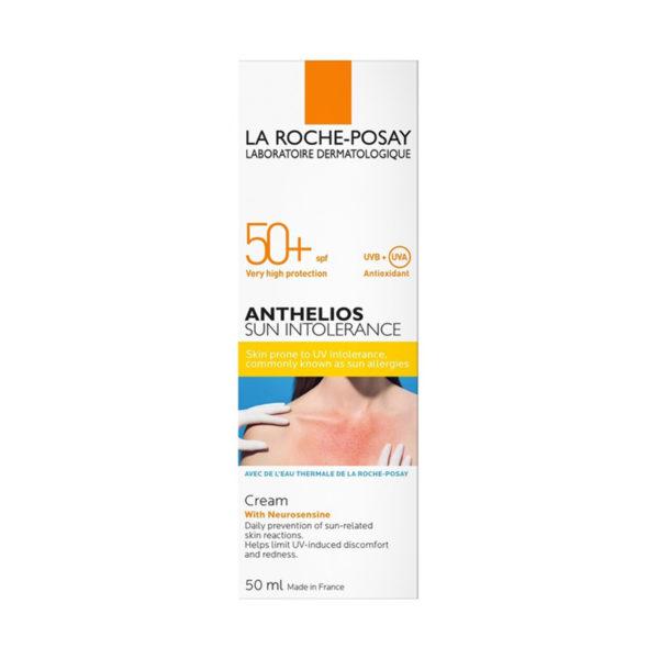 La Roche Posay Anthelios Sun Intolerance krema za obraz ZF50+, 50 ml
