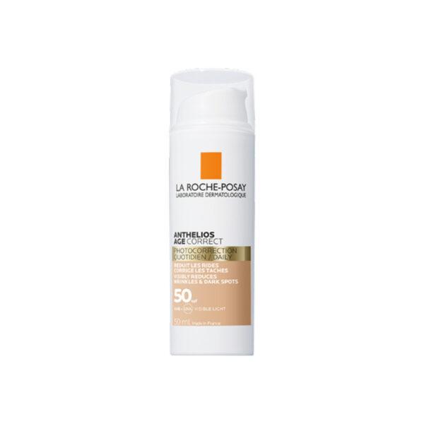 La Roche Posay Anthelios tonirana Age-Correct krema proti staranju kože ZF50, 50 ml