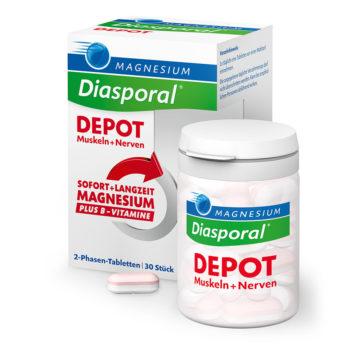Magnesium Diasporal DEPOT 2-fazni magnezij, 30 tablet