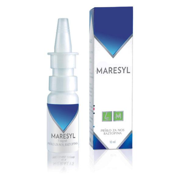 Maresyl 1,0 mg na ml pršilo za nos, 10 ml