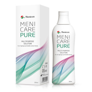 MeniCare Pure raztopina za nego leč, 250 ml