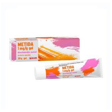 Metida 1 mg/ml gel v tubi
