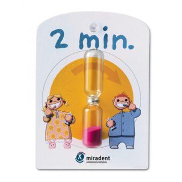 Miradent peščena ura za otroke, 1 kos