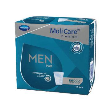 MoliCare Premium Men Pad 2 kapljici, 14 vložkov