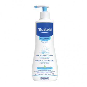 Mustela Cold gel za umivanje novorojenčka, 500 ml