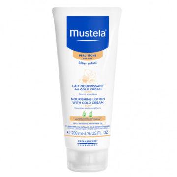 Mustela Cold zaščitno mleko za telo, 200 ml