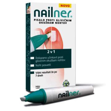 Nailner Pen 2 v 1 pisalo proti glivicam na nohtih, 4 ml
