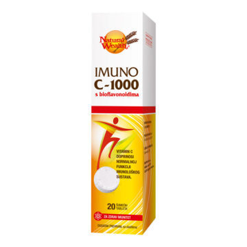 Natural Wealth Imuno C-1000 šumeče tablete, 20 šumečih tablet