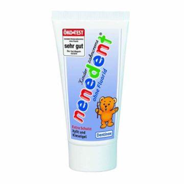 Nenedent otroška zobna pasta brez fluorida, 50 ml