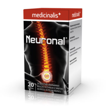Neuronal kapsule, 20 kapsul